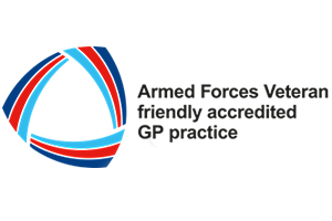 Veteran Friendly GP practice logo