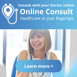 Consult with your Doctor online Online Consult Healthcare at your fingertips Learn more >